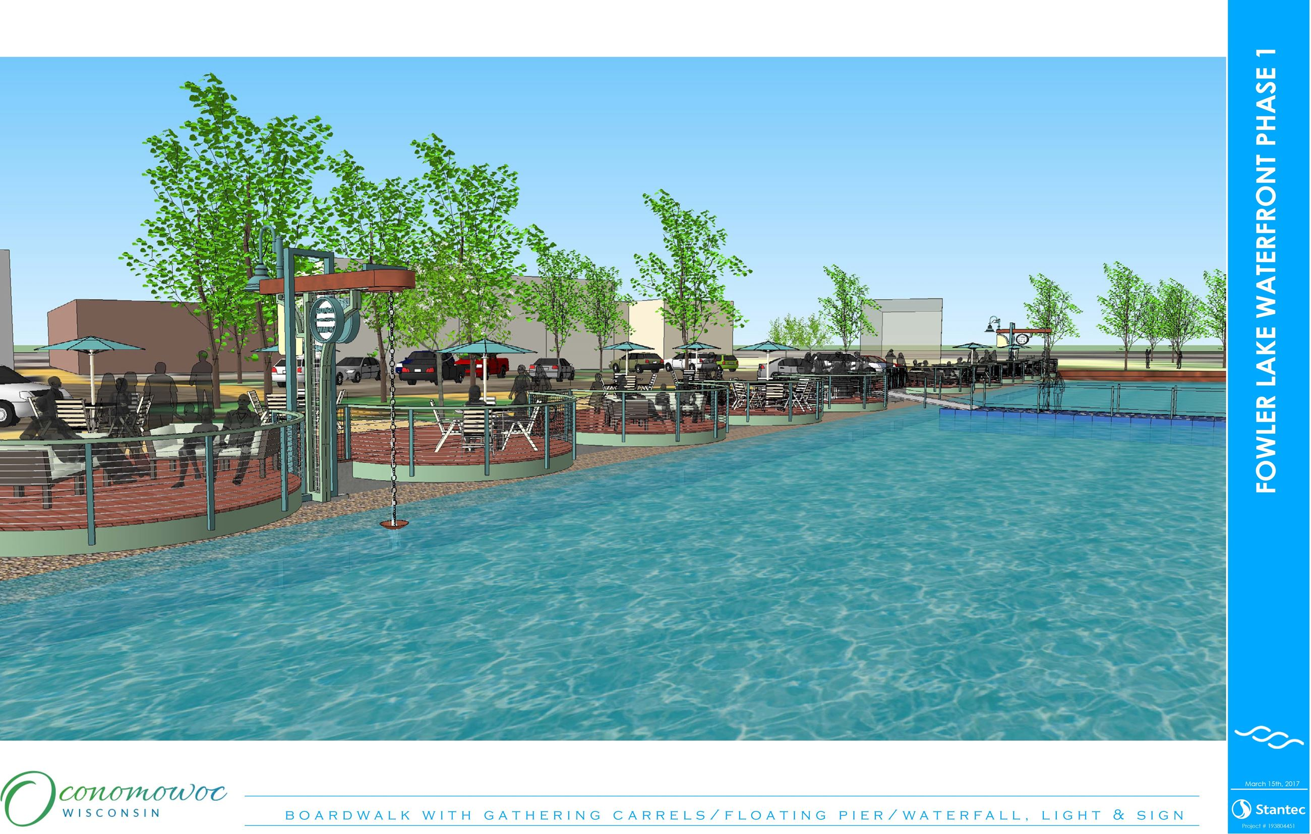 Fowler Lake Phase 1 Rendering #2