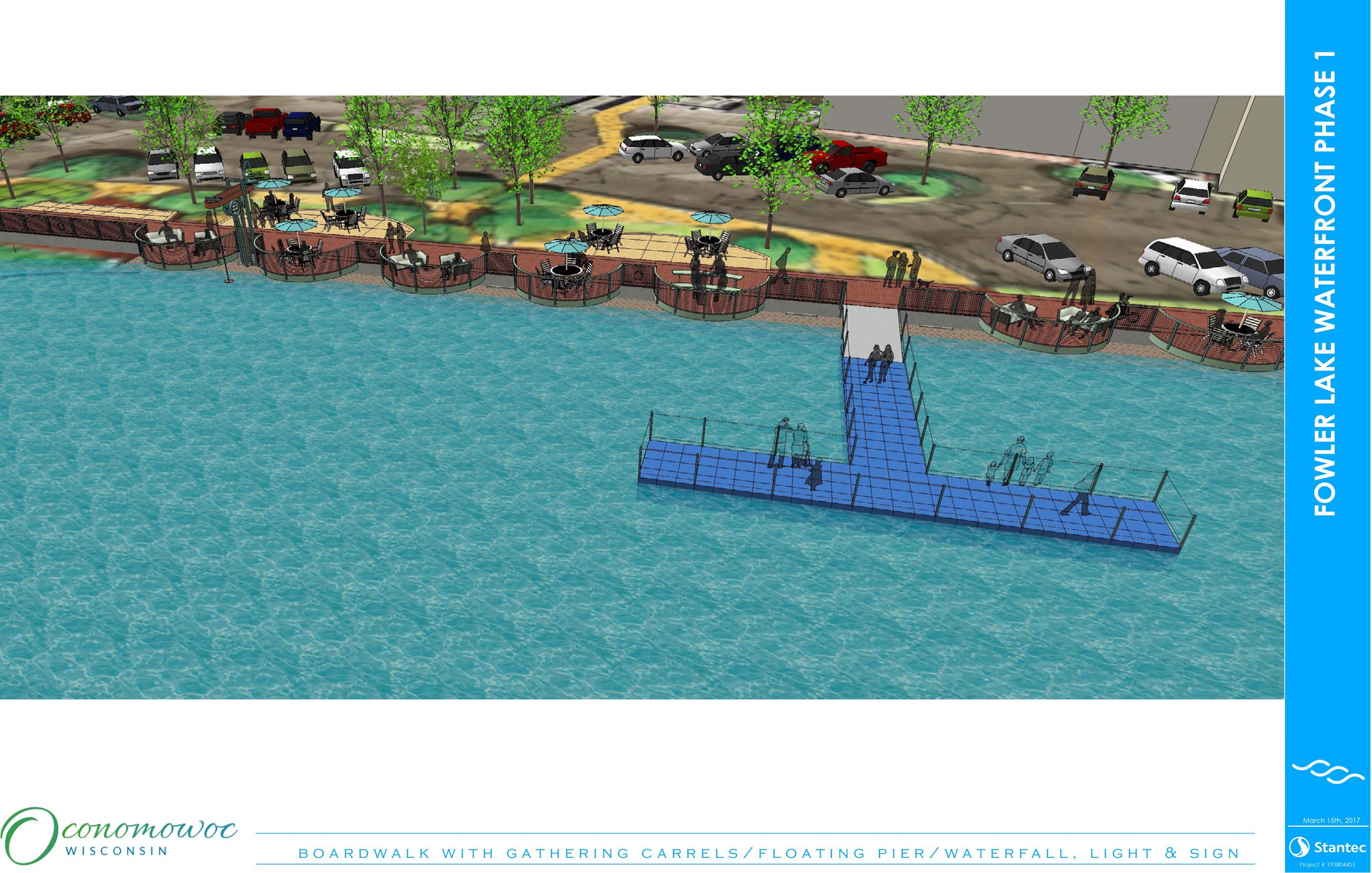 Fowler Lake Phase 1 Rendering #3