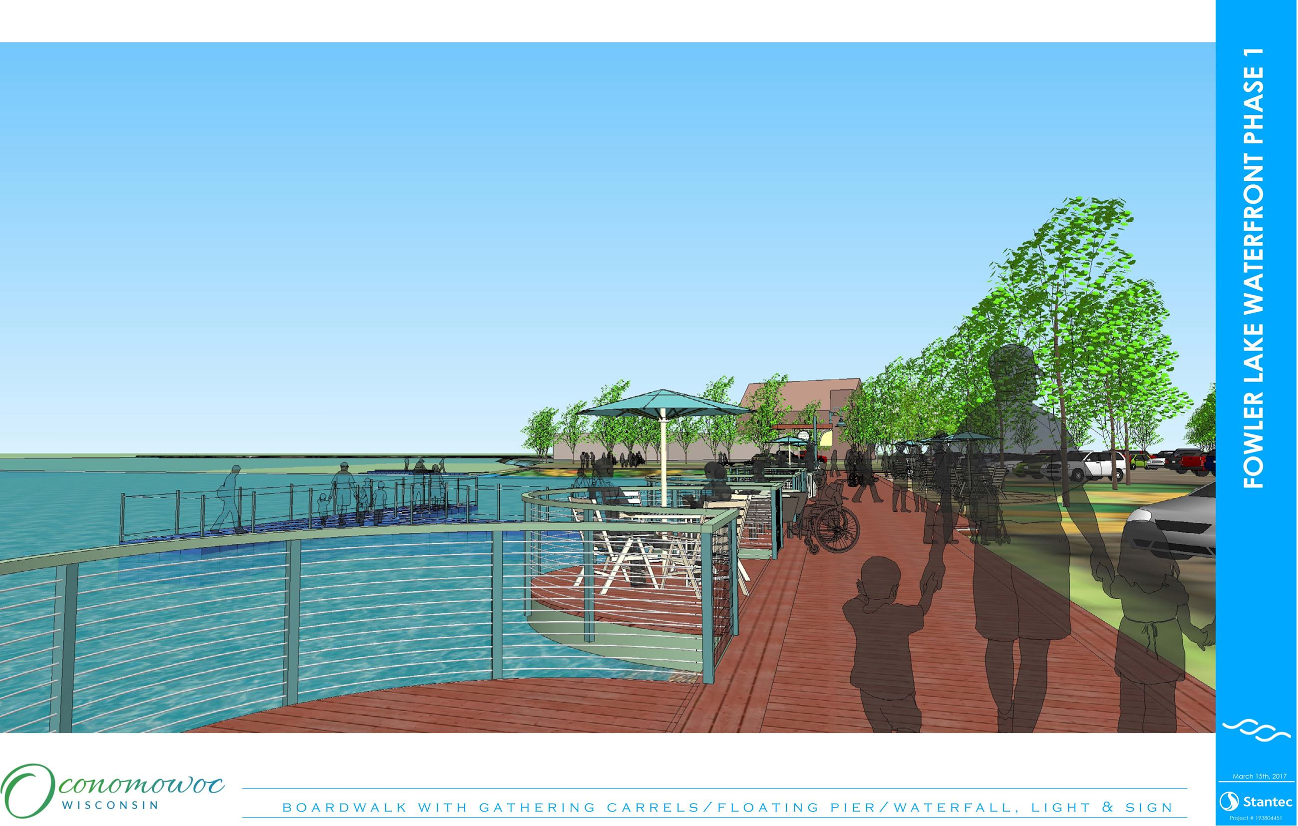 Fowler Lake Phase 1 Rendering #4